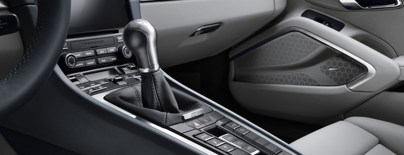 Porsche 911 7-speed manual transmission